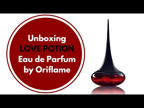 Unboxing Love Potion Eau De Parfum By Oriflame