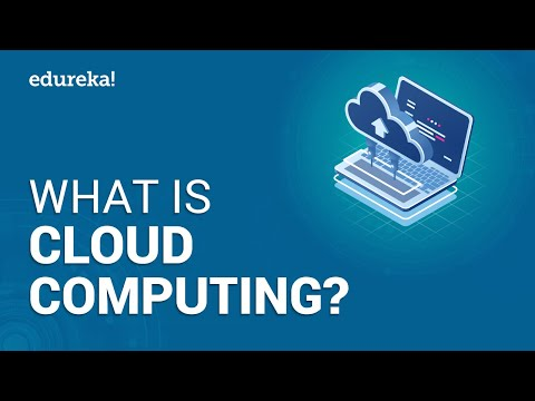 Cloud Computing Tutorial For Beginners | What is Cloud Computing | AWS Training | Edureka