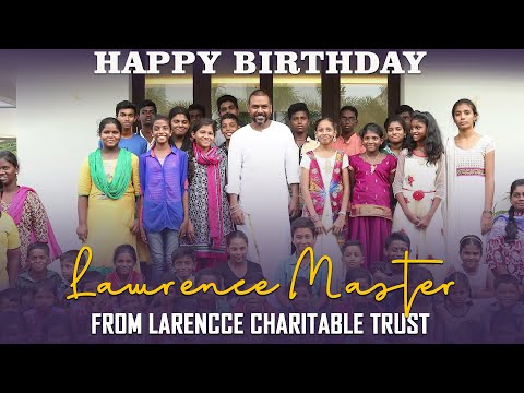 Happy Birthday Lawrence Master | from Larencce Charitable Trust