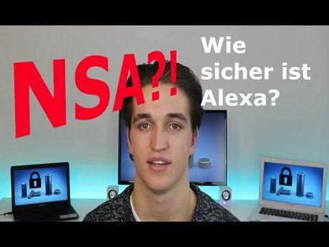 Hört die NSA Alexa ab? Wie sicher ist ist Amazons Echo (Alexa) wirklich?