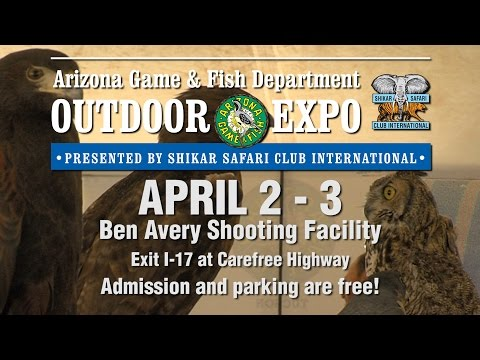 2016 Arizona Game & Fish Department Outdoor Expo!