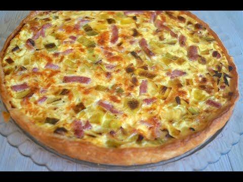 tarte-aux-poireaux,-lardons-et-fromage,-super-facile!
