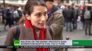 Revolt in France: Great many protesters coming to Paris to attack forces of law - PM