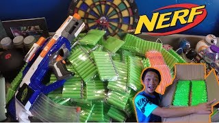 SOMEONE SENT ME 2000 NERF DARTS... FOR FREE?!?