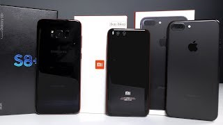 Обзор Xiaomi Mi6 рядом с iPhone 7 и Galaxy S8. Xiaomi Mi 6 - конец Apple?