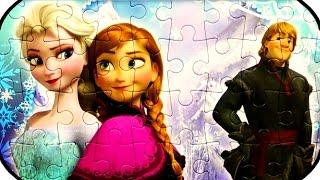 Disney FROZEN Puzzle Game JIGSAW Puzzles ㋡ Rompecabezas Learning Toys quebra-cabeças yapboz