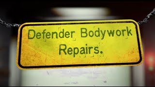 Replacing rotten Defender seat box ends - Land Rover Defender bodywork repairs