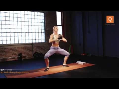 Ariel's Medicine Ball Workout: 30 Minutes