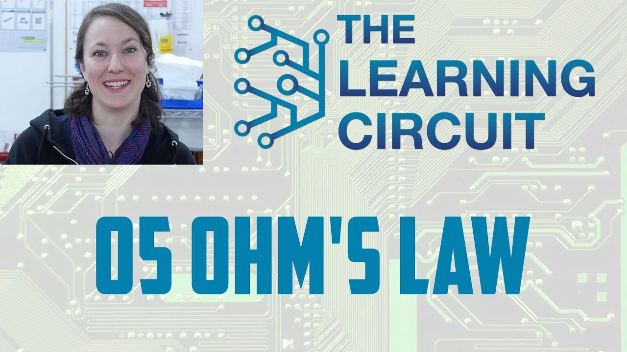 The Learning Circuit Ohms Law Youtube Resistance Can Be Used To Work Out Voltages And Currents