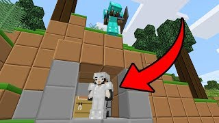 PLAYER HAD NO IDEA I WAS THERE! - Minecraft Friend or Foe #6