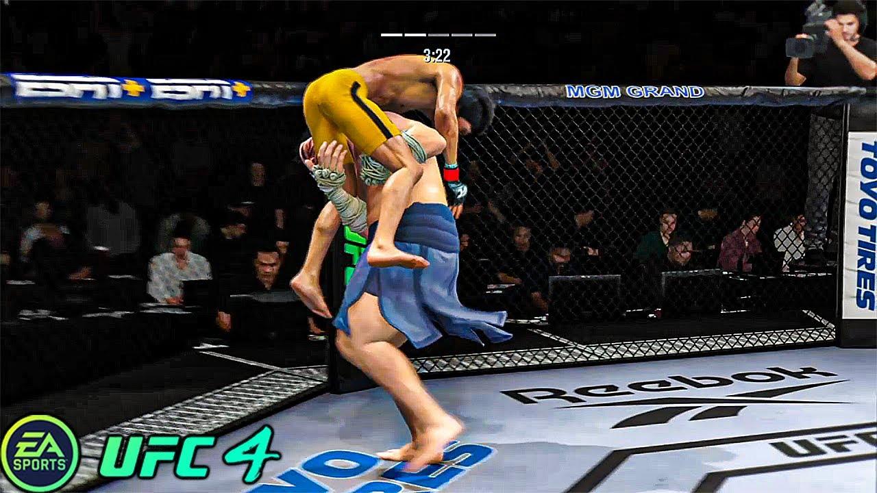 UFC 4 | Bruce Lee vs Edmond Honda |  EA SPORTS UFC 4