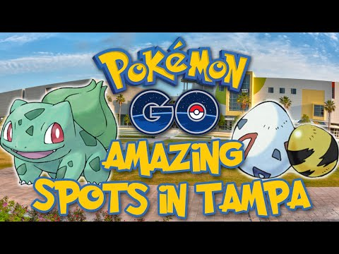 6 Hottest Pokemon Go Spots in Tampa