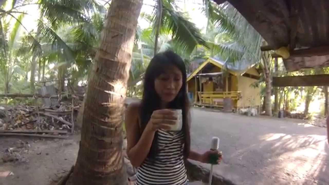 #147 Filipinka Częstuje Mnie Winem Prosto z Kokosa. Azja Jest Super.