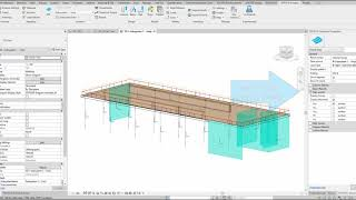 SOFiSTiK Analysis & Design for Revit 2021 - Sub system Analysis and Showing Results
