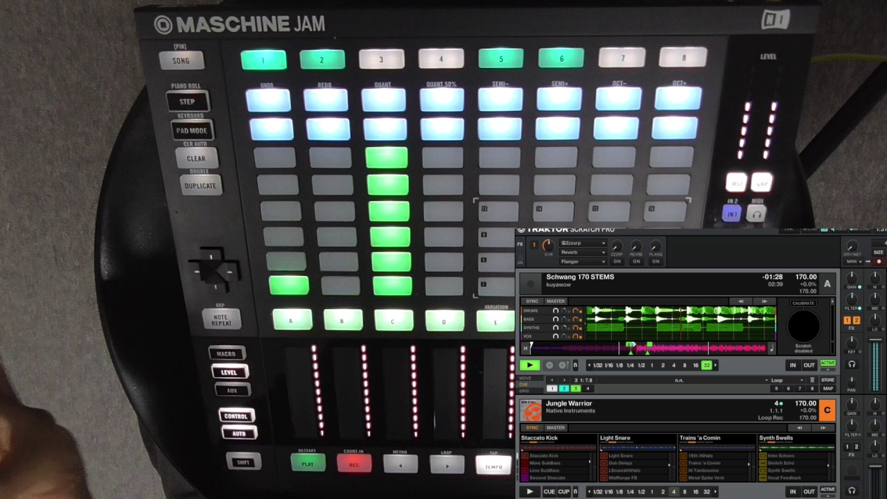 PROMOTEUS - Maschine Jam mappings for Traktor Pro