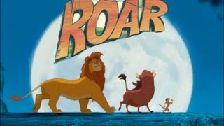 Roar Lion King Music Video Video