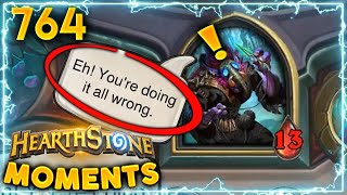 When the AI Laughs At You!! | Hearthstone Daily Moments Ep.764