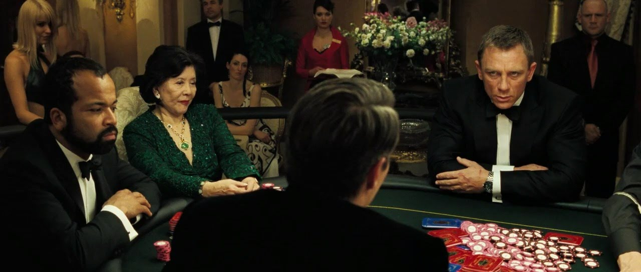 Last Poker Hand in Casino Royale