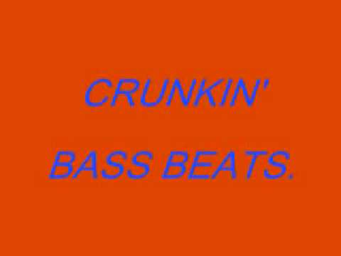 Crunkin' Bass Beats - DJ Billy E.