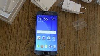 Samsung Galaxy S6 einrichten und erster Eindruck
