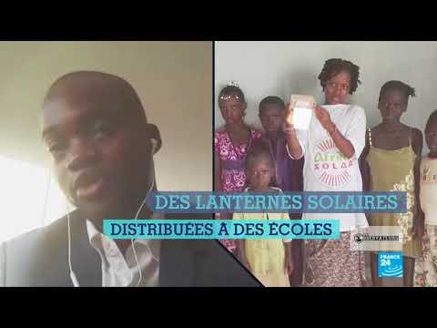 Un Malien crée des lampes solaire et solidaires entre la France et le Mali !
