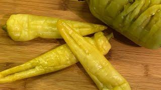 Как засолить перец-цицак? | How to pickle pepper | Ծիծակ