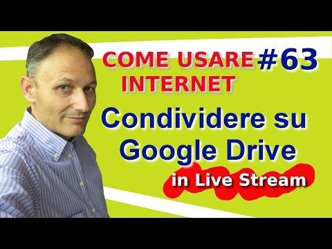 # 63 Condividere un file su Google Drive -...