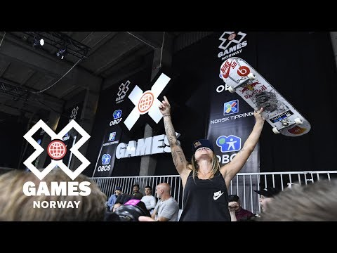 Women's Skateboard Street: FULL BROADCAST | X Games Norway 2018