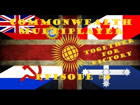 HOI 4 Multiplayer: Commonwealth Episode 4 - New Nations