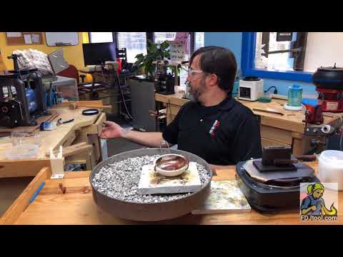 What to Do with Your Scrap Silver Demonstration at FDJtool's Showroom