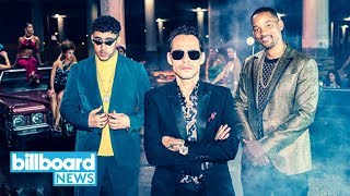 Marc Anthony, Will Smith & Bad Bunny Making Dreams Come True W New Song 'está Rico'  Billboard News