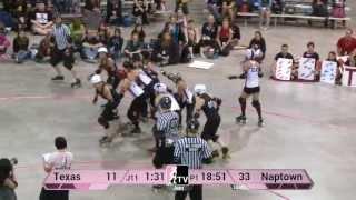 Texas Rollergirls v Naptown Roller Girls: 2013 WFTDA D1 Playoffs in Richmond