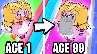 Foxy & Boxy GROW OLD in RUN OF LIFE! (FUNNY APP GAME!) screenshot 5
