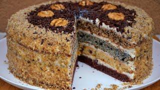 ✧ ТОРТ 'Дамский Каприз' или ТОРТ 'Сметанник' ✧ Cake 'Lady's whim' ✧ Марьяна
