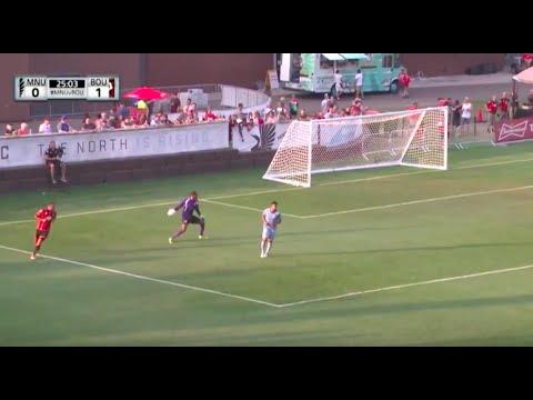 Minnesota United Goalkeeper Scores Incredible Own Goal Vs. Bournemouth