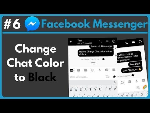 black facebook messenger apk 2017