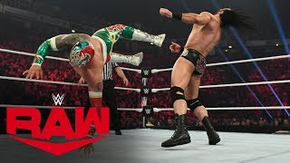 Sin Cara vs. Drew McIntyre: Raw, Nov. 11, 2019
