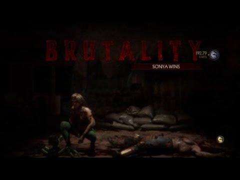 Mortal Kombat 11 Sonya Blade VS Kano (KL 18)(Makes Me MAD 2).