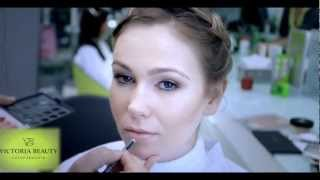Свадебный макияж 2013 / салон Victoria Beauty(http://www.youtube.com/user/VictoriaBeautyTV?feature=mhee http://vk.com/salon_victoria_beauty., 2013-03-11T20:34:24.000Z)
