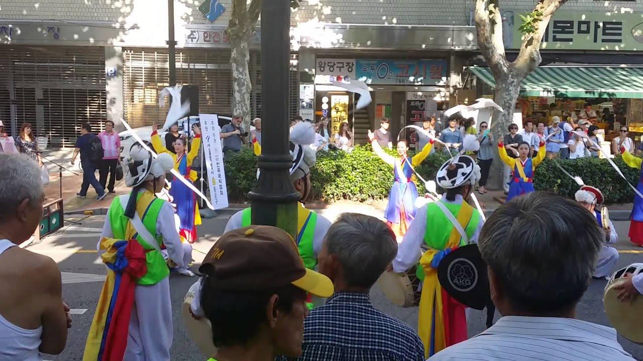 Traditionnal Korean Music and Dance in Seoul (Chuseok 2014)