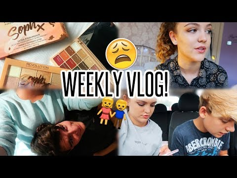VLOG: Work Experience, Cute Night in with Tom & Sophdoesnails Palette!!