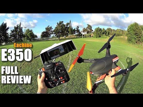 EACHINE PIONEER E350 - Full Review - [Unbox, Flight/CRASH Test, Pros & Cons]