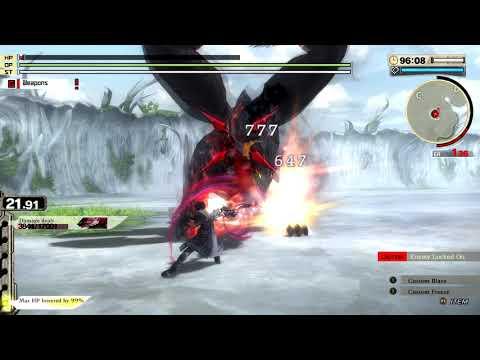 The Crimson Orochi Struggle - God Eater 2 Rage Burst  