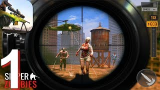 Sniper Zombies - Gameplay Walkthrough Part 1 (Android)