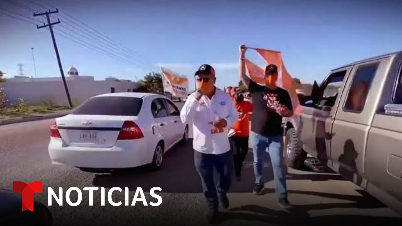 México: Exigen justicia por asesinato de candidato a alcalde | Noticias Telemundo