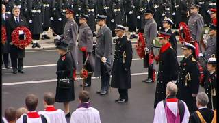 Two minutes' silence at the Cenotaph