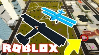 HIS PLANE GOT DESTROYED (-100,000) | Roblox Vehicle Simulator