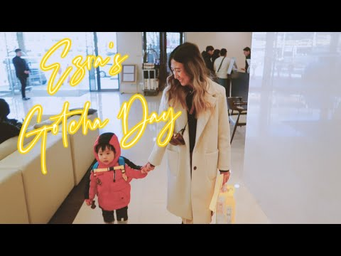 EZRA'S GOTCHA DAY // Korean Adoption