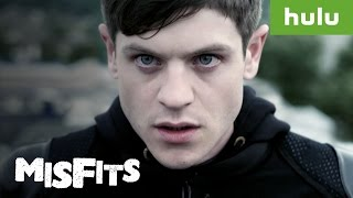"Jenny became a big fan of ""Misfits"" after discovering it on Hulu. W..."