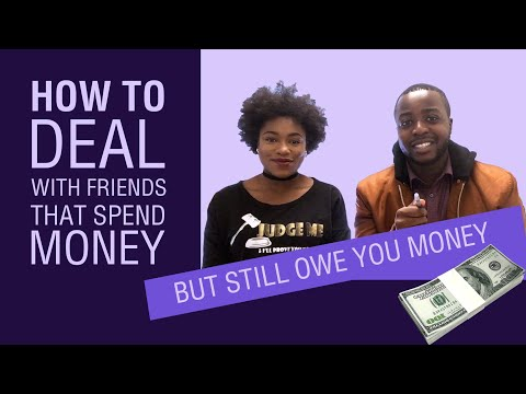 Planning on BORROWING MONEY FROM or LENDING MONEY TO Family and Friends???? WATCH THIS